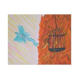 Bird Set Free Canvas Print