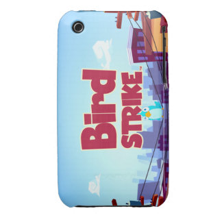 Bird Strike - iPh 3g/3gs CaseMate - Horizontal iPhone 3 Case-Mate Cases