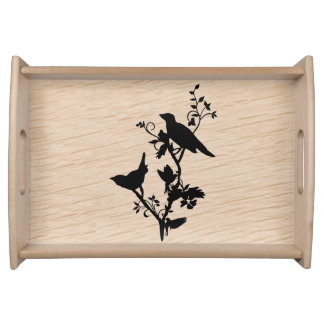 Bird Themed Home Decor Serving Tray