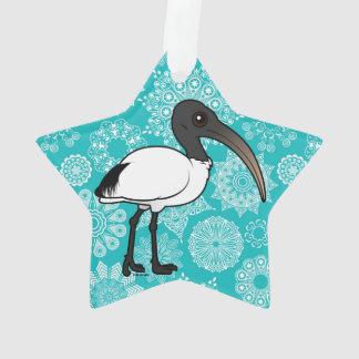 Birdorable Sacred Ibis Ornament