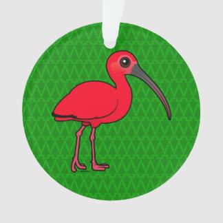 Birdorable Scarlet Ibis Ornament