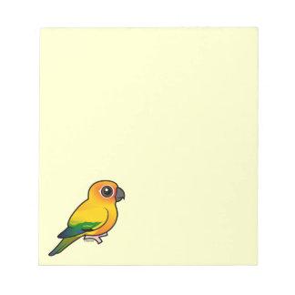 Birdorable Sun Parakeet Notepad