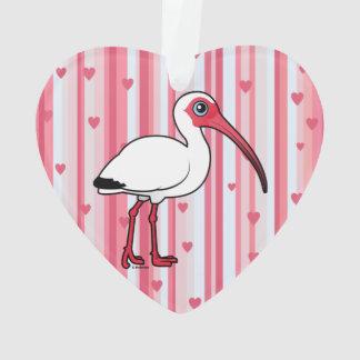 Birdorable White Ibis Ornament