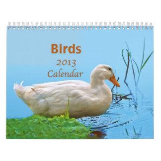 Birds 2013 Calendar
