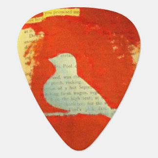 Birds altered art guitar picks plectrum