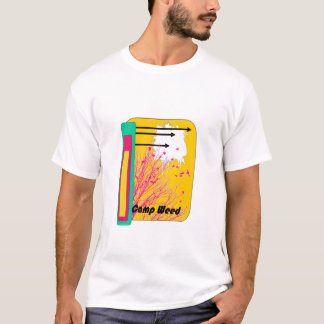 birds and arrows camp weed shirt