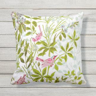 Birds and Butterflies Pillow #2