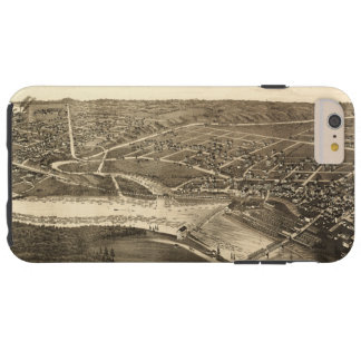 Bird's Eye View of Merrill Wisconsin (1883) Tough iPhone 6 Plus Case