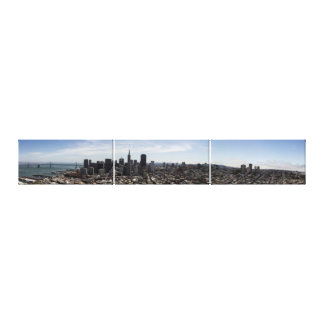 Birds eye view of San Francisco Canvas Print