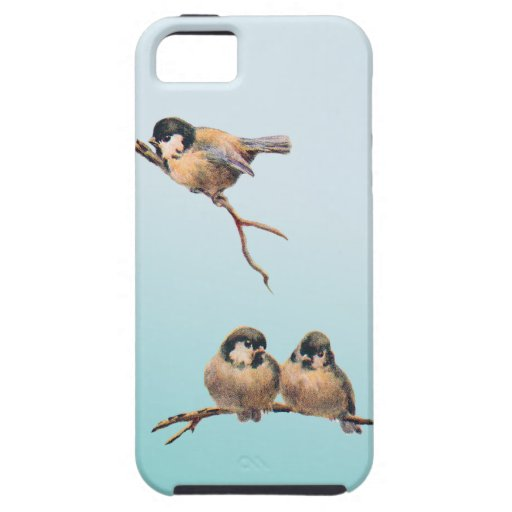 Birds Vintage iPhone 5 Cover