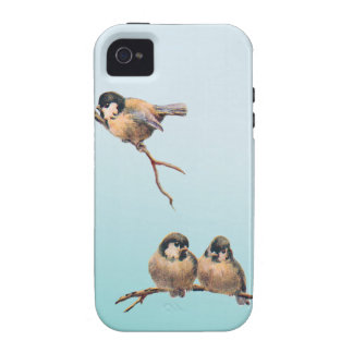 Birds Vintage iPhone 4 Cover