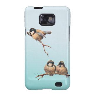 Birds Vintage Samsung Galaxy SII Covers