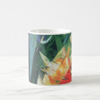 Birds (Vogel) by Franz Marc, Vintage Cubism Art Coffee Mug