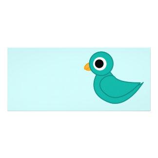birdy full colour rack card