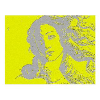Birh of Venus, Goddess, Alternative Postcard