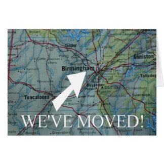 Birmingham We've Moved address announcement