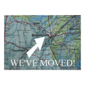 Birmingham We've Moved New Address Announcement