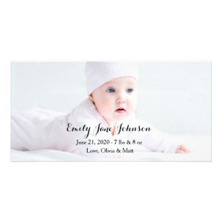 Birth Announcement Photo Cards