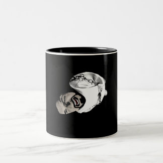 Birth of a Madman Two-Tone Coffee Mug