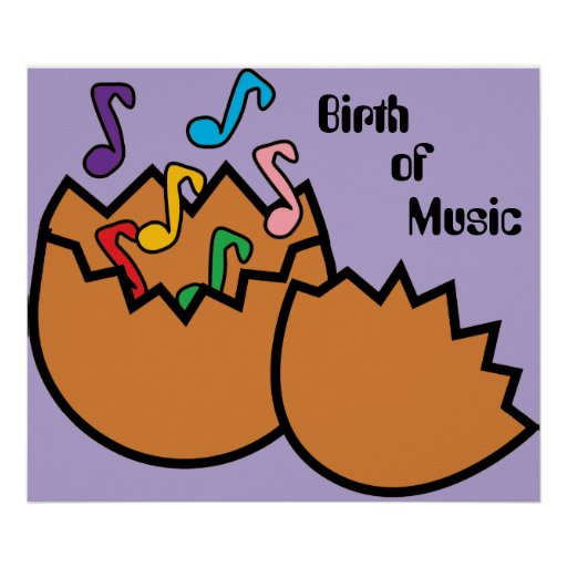 Birth of Music Poster