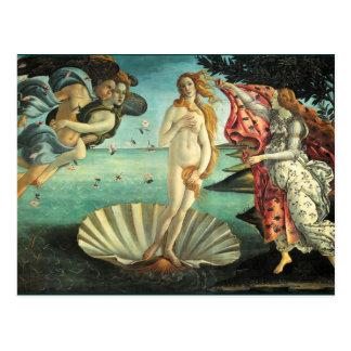 Birth of Venus, 1485 Postcard