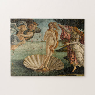Birth of Venus by Botticelli Puzzle