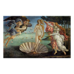 Birth of Venus by Botticelli, Renaissance Art Posters