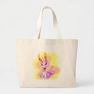 Birthday Aisha Large Tote Bag