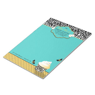 Birthday Bee Business Notepad
