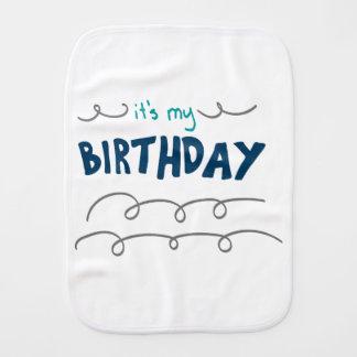Birthday Boy Burp Cloth