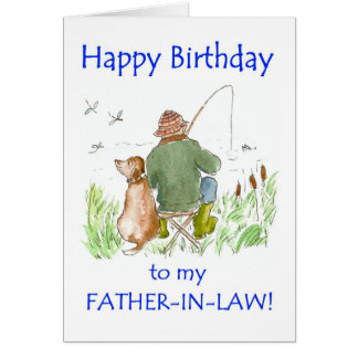 Birthday Card for Father-in-law