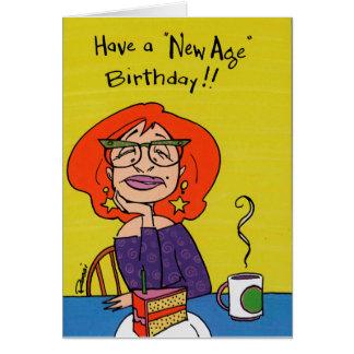 Birthday Card - New Age