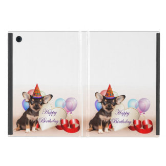 Birthday Chihuahua dog Cover For iPad Mini
