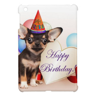 Birthday Chihuahua dog iPad Mini Case