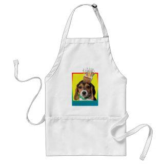 Birthday Cupcake - Beagle Puppy - Chloe Standard Apron