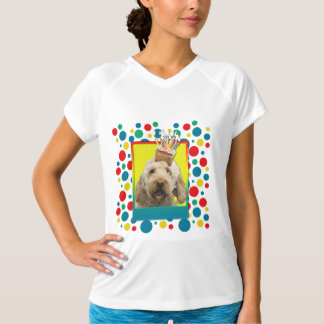 Birthday Cupcake - GoldenDoodle T-Shirt