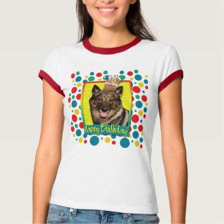 Birthday Cupcake - Vallhund T-Shirt