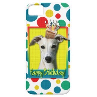 Birthday Cupcake - Whippet Barely There iPhone 5 Case