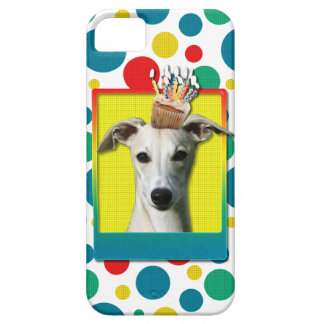 Birthday Cupcake - Whippet iPhone 5 Case