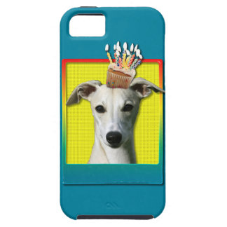 Birthday Cupcake - Whippet iPhone 5 Covers