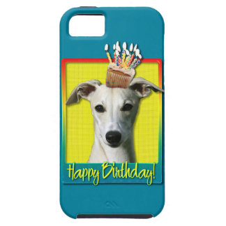 Birthday Cupcake - Whippet Tough iPhone 5 Case
