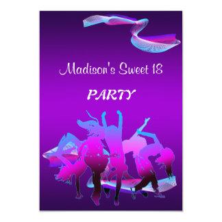 Birthday Dance Party Card