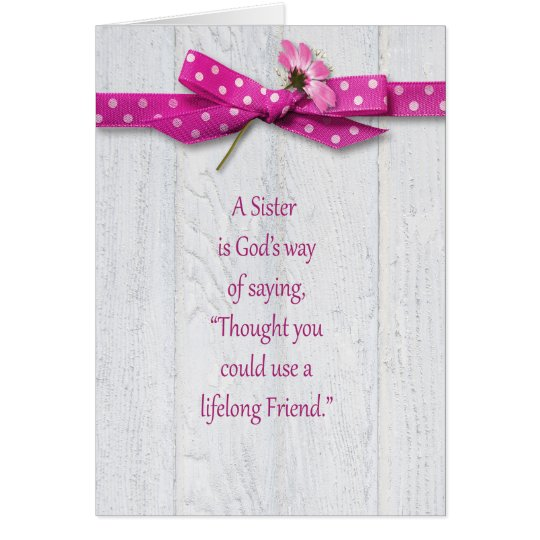 Birthday for Sister Card