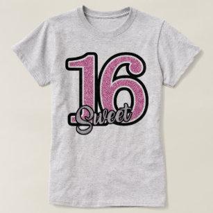Birthday Gift Sweet 16 T Shirt