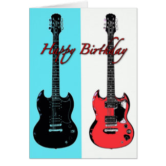 guitar birthday gifts t shirts art posters other gift ideas zazzle. Black Bedroom Furniture Sets. Home Design Ideas