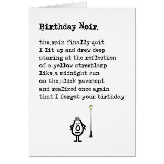 Funny Birthday Poem Gifts - T-Shirts, Art, Posters & Other Gift ...