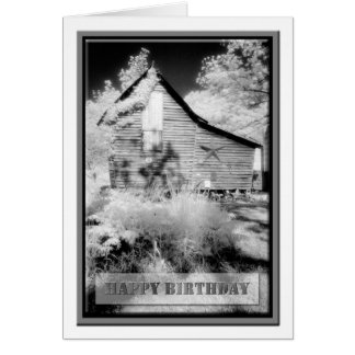 Birthday - Old Virginia Barn 5 for Dad Card