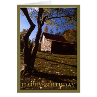 Birthday - Old Virginia Barn No 10 Card