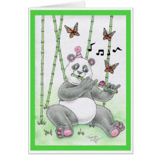 Birthday Panda Bear Card