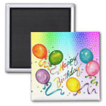 Birthday Party Magnets